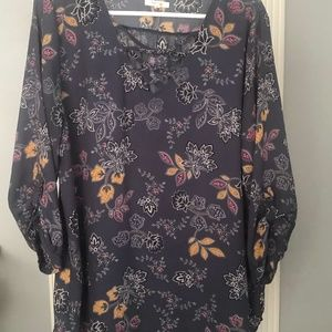 Maurices floral blouse size XL
